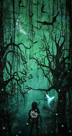 It's Dangerous To Go Alone, Link by Colin Morella