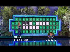 Wheel of Fortune: Amazing Bonus Round Solve! - YouTube