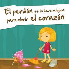 """""""El perdón es la llave mágica para abrir el corazón"""" #Citas #Frases @Candidman"""