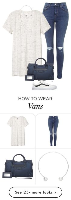"""""""Art & Expression polyvore"""" by polyvore393 on Polyvore featuring Topshop, Victoria's Secret PINK, Maria Stern, Balenciaga and Vans"""