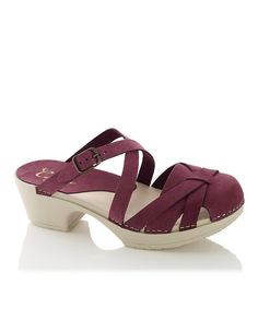Take a look at the Chianti Sibylle Leather Platform Sandal on #zulily today!