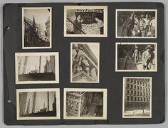 [New York City Pedestrians, Construction Sites, Buildings, and Street Signs] Berenice Abbott (American, Springfield, Ohio 1898–1991 Monson, Maine) 1929 - 30