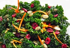 A recipe for kale salad from Blossom Du Jour.