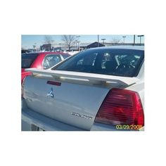 Unpainted 2004-2008 Mitsubishi Galant Spoiler Custom Style Wing