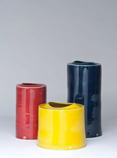 Group of Three by Tanya Gomez, 2012, Photo by Simon Punter represented at COLLECT by Contemporary Applied Arts