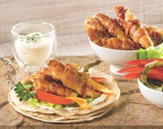 Rapiditas Bimbo de pollo, queso y panceta