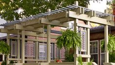 Build a Pergola in Your Backyard with One of These 17 Free Plans