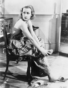 Carole Lombard on the set of Fools for Scandal (1938)