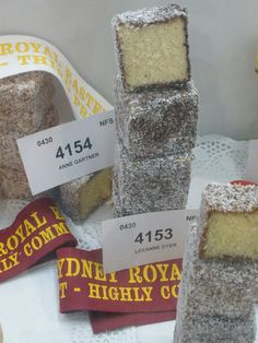 2015 Royal Easter Show - Highly Commended Lamingtons