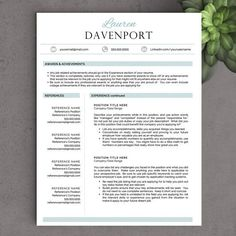 940 best unique resume images on pinterest in 2018 resume template