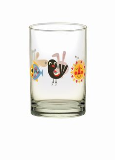#animal #glass by Ingela P #Arrhenius from www.kidsdinge.com https://www.facebook.com/pages/kidsdingecom-Origineel-speelgoed-hebbedingen-voor-hippe-kids/160122710686387?sk=wall