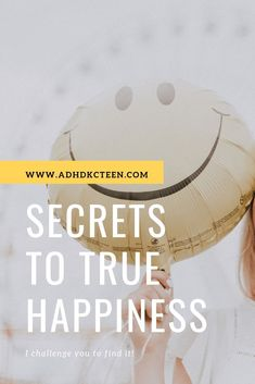 Find true happiness - it's not impossible! Adhd Quotes, Adhd Strategies, Mindfulness For Kids, Anxiety Tips, Trouble Sleeping, True Happiness, Work Life Balance, Music Lessons, Happy Kids