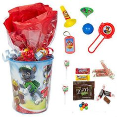 Items similar to Paw Patrol Goodie Bag Cup 4 Goodie Cups on Etsy - Christmas Deesserts Paw Patrol Party Favors, Paw Patrol Party Decorations, Paw Patrol Birthday Theme, 4th Birthday Parties, 1st Birthdays, 2nd Birthday, Birthday Ideas, Goodie Bags, Etsy