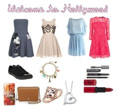 """""""Homecoming"""" by xtoleap ❤ liked on Polyvore featuring Paul & Joe Sister, Bobbi Brown Cosmetics, Converse, Karen Millen, Chicwish, Rimmel, Tory Burch and claire's"""