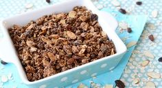 An easy granola recipe that makes a great snack on its own or with yogurt. Perfect for play time or breakfast!