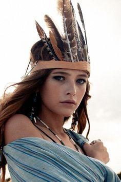 Feather Headdress!