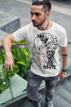 Equality, Celebrating Diversity, Anti-Discrimination,Protest, against racism. Anti Discrimination, Its Ok, Branded T Shirts, Diversity, Equality, Fashion Brands, Celebrities, Mens Tops, Stuff To Buy