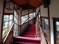 階段も、ワクワクするような不思議な雰囲気ですね。