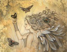 Jessica Galbreth Sleeping angel art