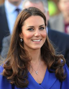 Kate Middleton Attends A Tree Planting Ceremony