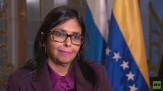"""Delcy Rodríguez a RT: """"Rusia y Venezuela van de la mano para construir un mundo pluripolar"""""""