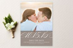 Elegant Year Save The Date Cards by annie clark at minted.com