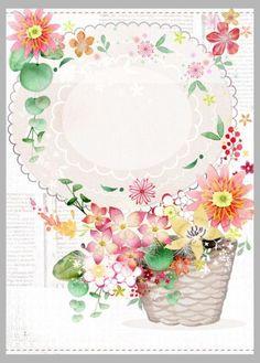 Victoria Nelson - Basket Flowers Texture Copy