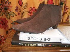 Vintage all Leather Bealtles Gogo // Boho // by kellyshippyhut, $60.00