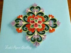 Toshi's Paper Quilling ♪