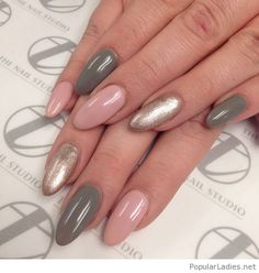 This is wonderful, just almond nails