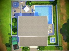the family dream house is perfect for Found in TSR Category 'Sims 4 Residential Lots' The Sims, Sims 4 Family House, Sims Freeplay Houses, Sims 4 House Plans, House Layouts, Be Perfect, House Design, How To Plan, House Ideas