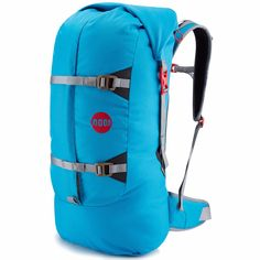 Extremely durable and deceptively spacious the Aerial Pack is the ultimate backpack for carrying all your climbing gear, shoes and rope. Homemade Backpack, Camping Packing, Sewing Studio, Designer Backpacks, Bouldering, Backpack Bags, Climbing, Leather Bag, Outdoor Products