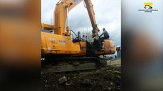 Excavator Engine Removal Time Lapse - Chicago Heavy Equipment Services   construction equipment repair