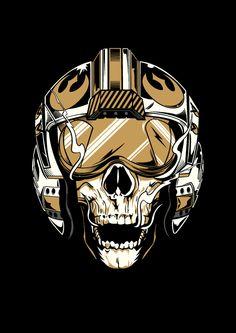 Gold Leader by Dan Shearn, via Behance