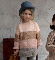 Modèle tricot laine Phil Light