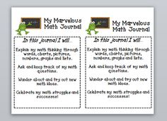 Third Grade Thinkers: Effective Math Instruction and Journaling