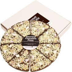 Marshmallow & Button Feast Chocolate Pizza 26cm