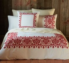 North Country Collection- Red #OrganicBedding #TheUltimateGreenStore