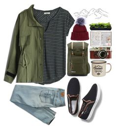 """""""Hopeless Wanderer- Mumford and Sons"""" by paintingiraffe ❤ liked on Polyvore featuring Keds, Madewell, Chicwish, American Eagle Outfitters, JanSport, Dot & Bo, Leica, Eugenia Kim, tumblr and camping"""