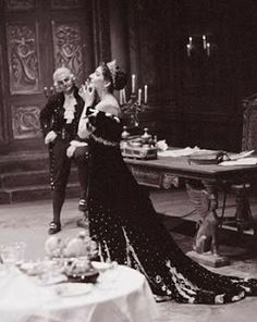 "Maria Callas and Tito Gobbi in ""TOSCA"""
