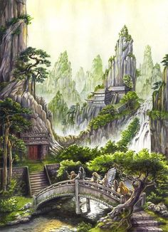 temple - by Jana Souflova | Featured Artist on the Fantasy Gallery