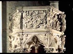 ▶ Historia del Arte : Edad Media -Arte Románico,Arte Gótico-(vidrieras oficios) - YouTube