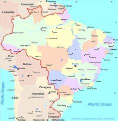 mapas do brasil 8