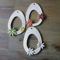 Most up-to-date Free Ceramics projects diy Style Warenverkäufer jasva / waren Ceramics Projects, Polymer Clay Projects, Diy Clay, Diy Fimo, Ceramic Pendant, Ceramic Clay, Ceramic Pottery, Clay Crafts For Kids, Easter Crafts