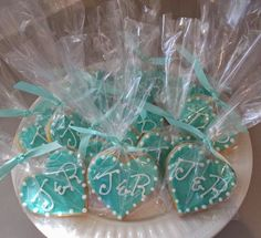 Custom Cakes by Lori: Shortbread wedding favours