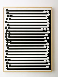 http://ocula.com/art-galleries/sue-crockford-gallery/artworks/black-on-white,-1965/  This image of Gordon Walters manipulates Gestalts' principle of figure-ground or positive and negative space. Walters' uses two competing series of korus, each occupying either positive or negative space respectively.