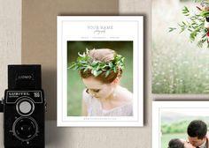 SALE! Magazine Template for Wedding Photographers - Price List - Studio Welcome Packet - Wedding Photography Magazine