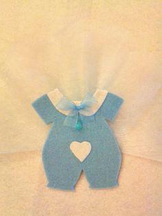 Keçe tulum bebek magnet
