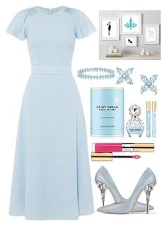 """""""Untitled #425"""" by ngkhhuynstyle ❤ liked on Polyvore featuring Tiffany & Co., Marc Jacobs and Yves Saint Laurent"""