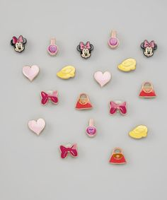Take a look at this Minnie Mouse Shoe Tag Set by DAWGS on #zulily today!